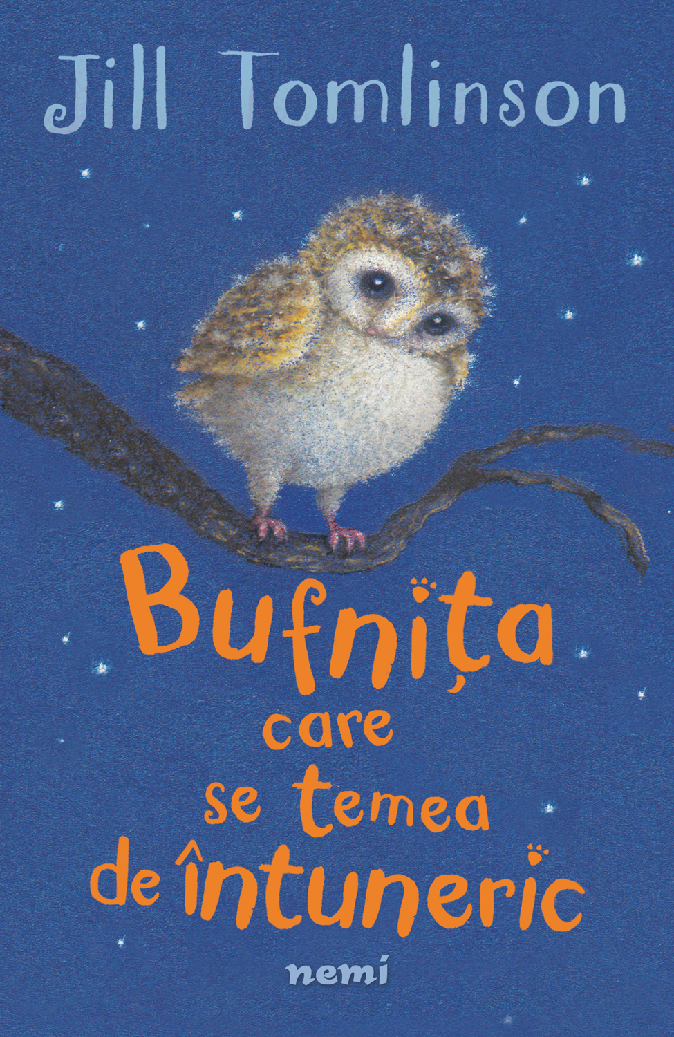 Bufnița care se temea de întuneric, il. Paul Howard