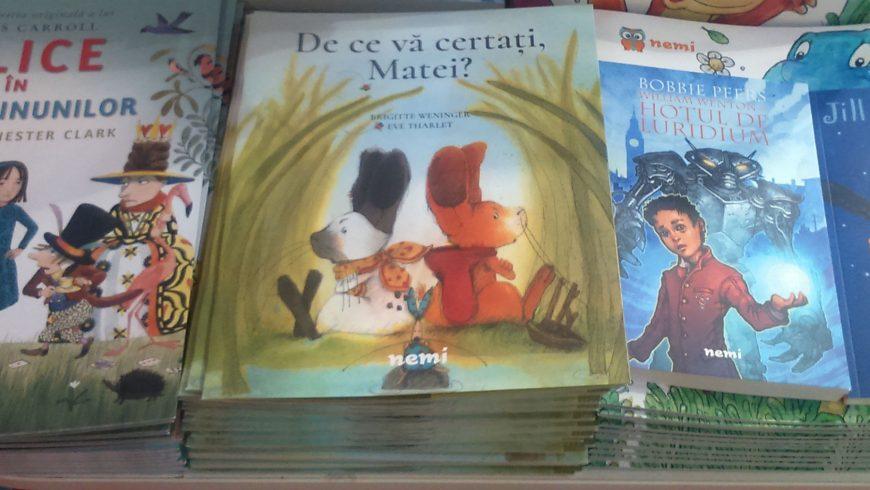 Cărți frumoase pentru copii la Bookfest 2016