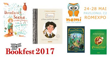 Cărți Nemi la Bookfest 2017