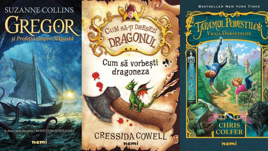 1 iunie: Oferă-i cadoul potrivit micului tău cititor!