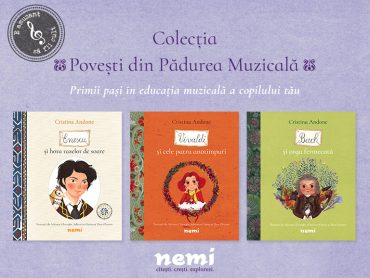 Poveștile din Pădurea Muzicală continuă la Editura Nemi