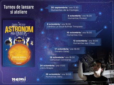 3,2,1…START! Începe călătoria prin Univers alături de astronomul Adrian Șonka