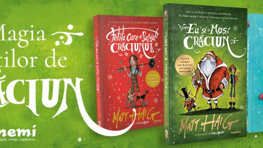 Cea mai îndrăgită serie de povești de Crăciun pentru copii