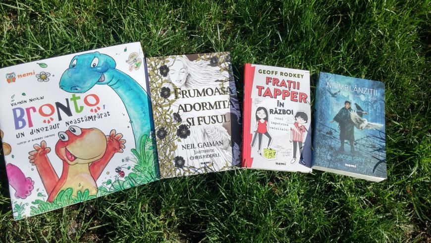 Primăvara vine cu cărți noi