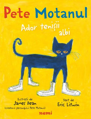 Pete Motanul. Ador tenișii albi