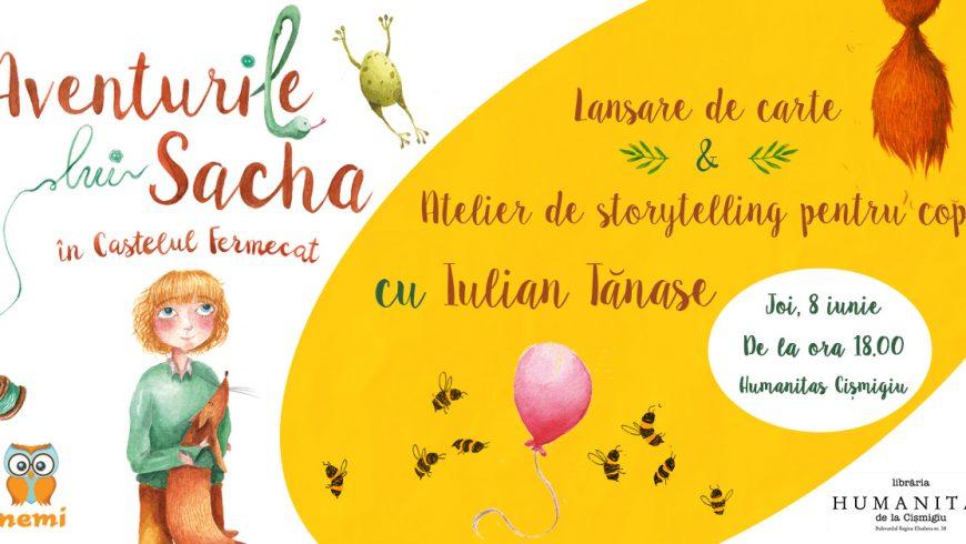 Aventurile lui Sacha în Castelul Fermecat – lecturi și ateliere de storytelling în București