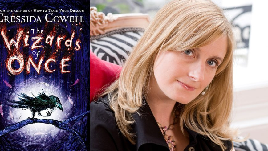 Cressida Cowell a câștigat Blue Peter Book Award pentru romanul The Wizards of Once