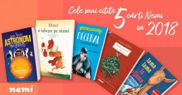Top 5 cele mai citite cărți Nemi pentru copii