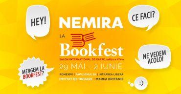 Cele mai căutate cărți Nemi la Bookfest 2019