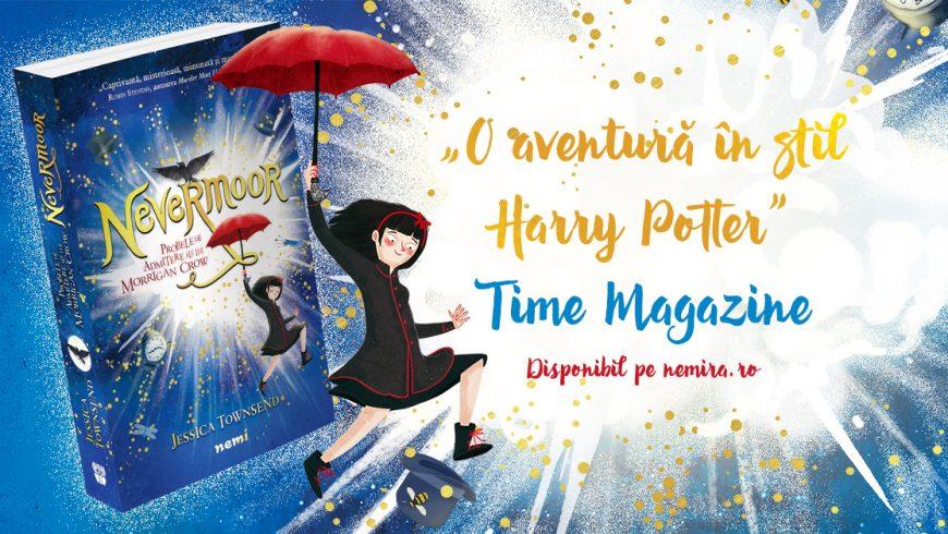 Cea mai așteptată carte pentru copii – Nevermoor apare la editura Nemi