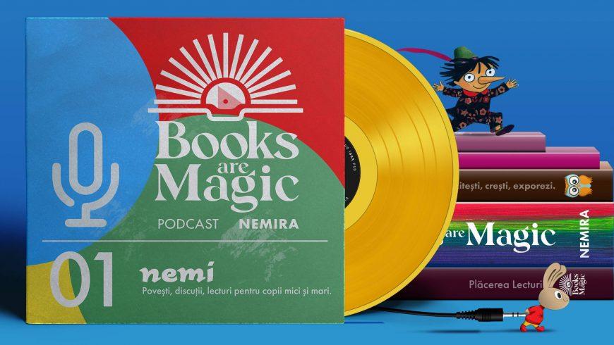 Primul podcast Nemi pentru copii! Lectură pentru cei mici