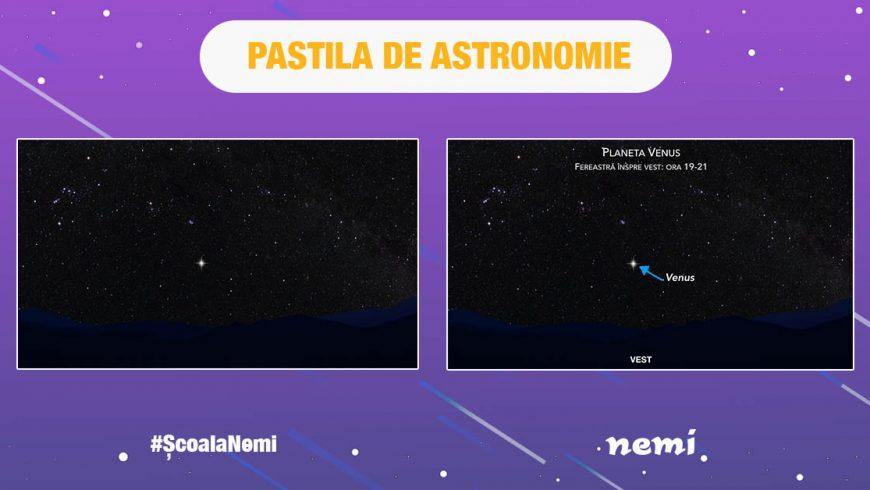 Pastila de astronomie pentru copii, părinți, bunici – #NemiȘcoala