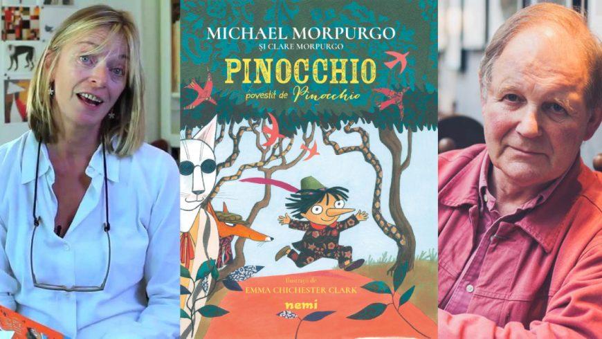 Cum lucrează un scriitor împreună cu un ilustrator? Michael Morpurgo și Emma Chichester Clark, despre PINOCCHIO