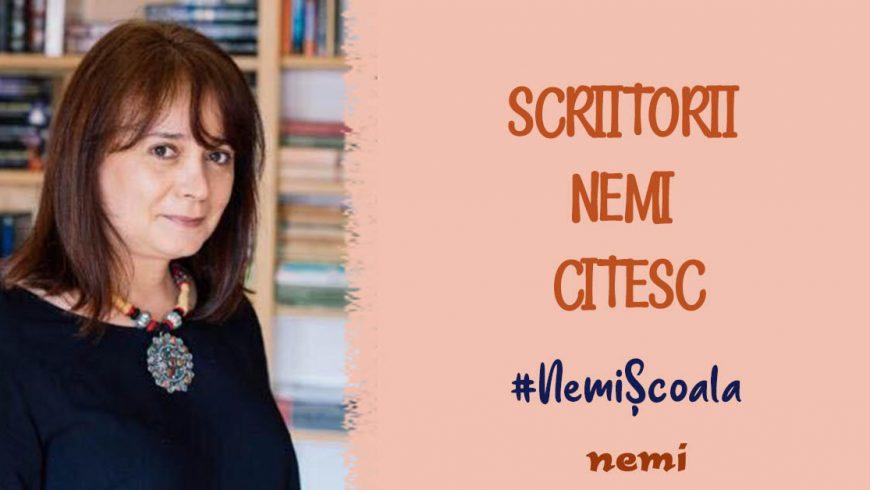 """Scriitorii Nemi le citesc de la distanță celor mici! Sînziana Popescu citește din """"Andilandi"""""""