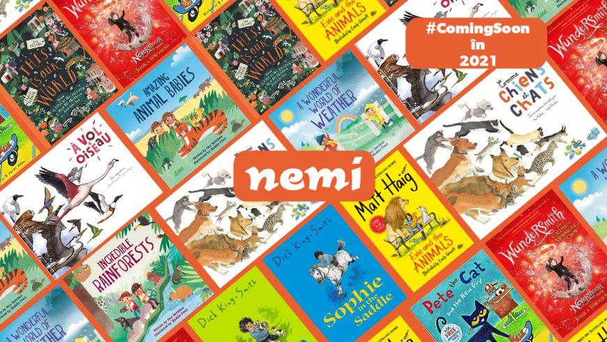Cărți pentru copii în pregătire la editura Nemi în 2021