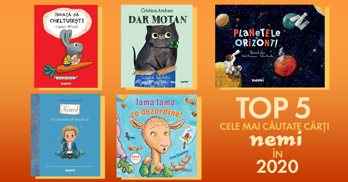 Top 5 cele mai căutate cărți Nemi în 2020