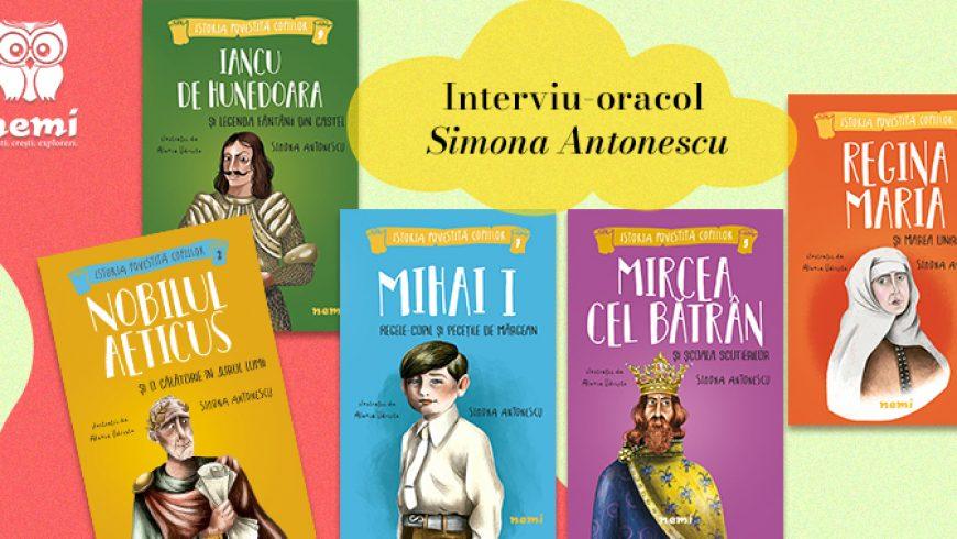 Interviu oracol cu Simona Antonescu
