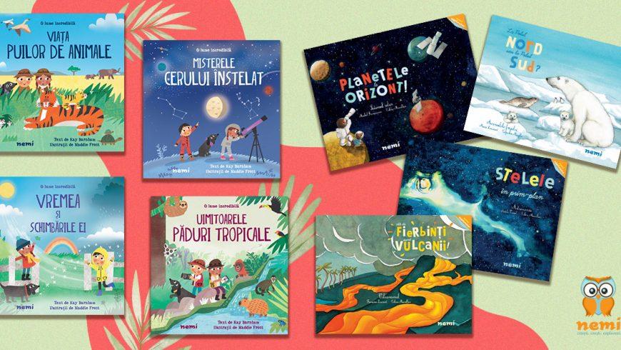 Despre copii, știință, natură și cărți