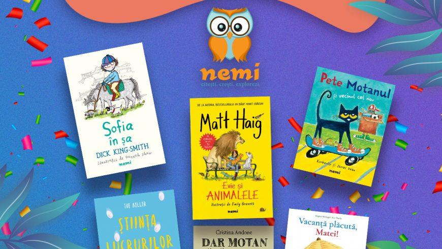 Ziua Prieteniei cu Nemi: Pete, Sofia, Evie, Matei, Dar și Natalie