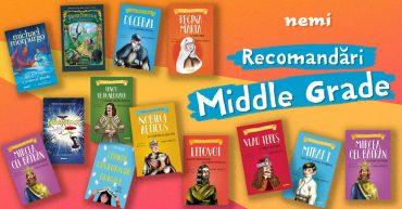 Recomandări de cărți Middle Grade